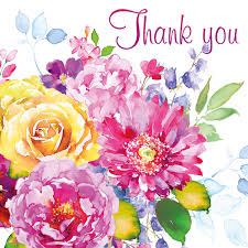thank you flowers thank you card flowers oak tree homes trust
