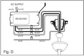 installing remote control ceiling fan ceiling fan with light and remote control wiring popular diagram