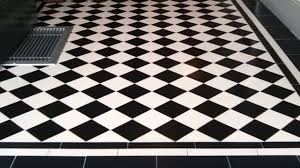 black and white tiles fancy ceramic tile flooring on black and