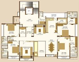 4 bedroom apartment flat for rent in iscon heights gotri