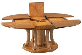 dining room expanding round dining table the jupe expandable