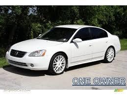 Nissan Altima White - 2003 nissan altima 2 5 s in satin white pearl 128372 jax