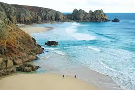 Where Is The Black Sand Beach Porthcurno Beach