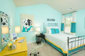 bright aqua kids bedroom decor idea hidden forest pinterest