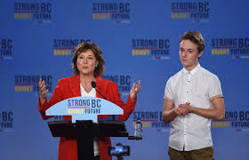 Christy Clark Cabinet And So We Wait