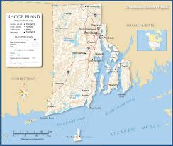 map usa rhode island reference map of rhode island usa nations project