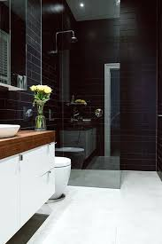 white tiled bathroom ideas black white tile bathroom ideas bathrooms with tiles home design