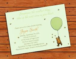 Classic Pooh Baby Shower Classic Winnie The Pooh Baby Shower Invitations Wblqual Com