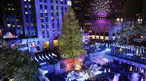 the strange cool of picking the rockefeller tree