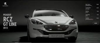 peugeot cars 2015 peugeot rcz gt line 2015 gran turismo sport car list