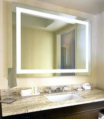 Bathroom Mirror With Lights Built In Bathroom Mirror Lights Simpletask Club