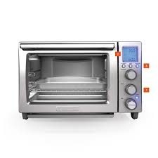 Turbo Toaster Oven Performance Convection Countertop Oven To5000sq Black Decker
