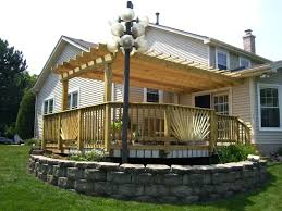 pergola deck ideas rooftop decks pictures 30189 interior decor