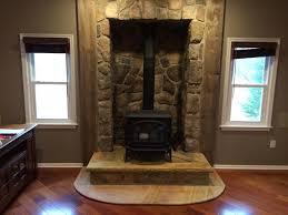 interior design classic style fireplace installation with old