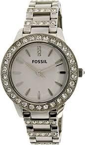 bracelet fossil steel images Fossil women 39 s es2362 stainless steel bracelet silver glitz analog jpg