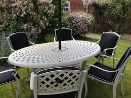 Aluminium Patio Table Cast Aluminium Garden Furniture Sale Now On