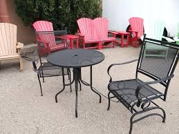 Best Way To Paint Metal Patio Furniture Patio Furniture Metal Paint Patio Table Black Metal Curved Patio