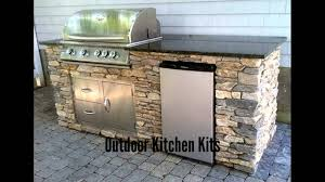outdoor kitchen kits youtube