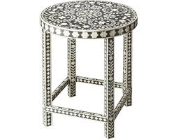 bone inlay side table 20 fantastic asian furniture accent and side tables home design lover