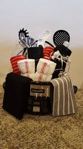 crockpot gift basket crock pot wine dish towels pasta utensils