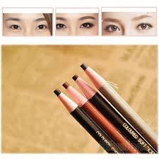 light grey eyebrow pencil qoo10 4pcs makeup cosmetic eye liner eyebrow pencil brush tool