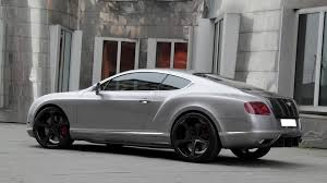 bentley grey bentley continental gt modified by anderson germany