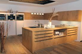 modern kitchen in wood finish bauformat european kitchen