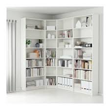 Ikea Billy Bookcase Corner Unit Billy Bookcase White Ikea