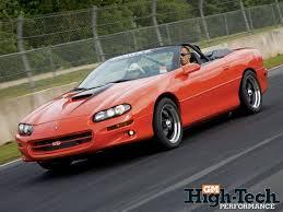 99 black camaro 1999 chevy camaro ss convertible gm high tech performance