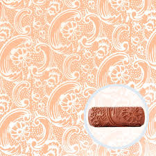 bloom tide patterned paint roller painttern bloom tide patterned paint roller front