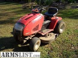 armslist for sale troybilt 18 5 hp 8 spd trans 42 in cut riding