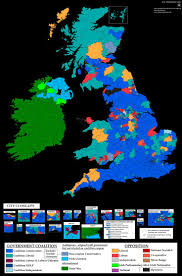 Ups Transit Map Results Of Uk And Ireland General Election Of 1918 Maps