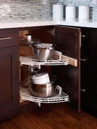 kitchen corner cabinet storage ideas kitchen pot organizer corner cabinet storage ideas gray stained