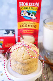 eggnog snickerdoodle cookies happiness is homemade