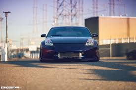 Nissan 350z Blacked Out - twin turbo nissan 350z with ksport pro plus air suspension