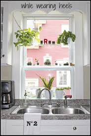 Kitchen Garden Window Ideas by Add Glass Shelves To Any Window To Make It A Greenhouse Window