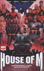 house of m house of m comic books issue 1