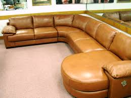 Natuzzi Red Leather Chair Natuzzi Editions B684 Rust 4 Piece Leather Sectional Butter Soft