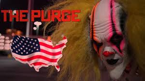 halloween clown background clown purge the invasion of america youtube