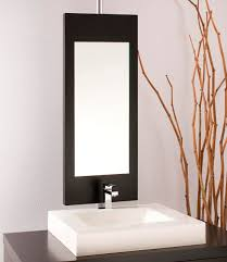 designer mirrors for bathrooms modern bathroom mirrors with lights design ideas photo gallery