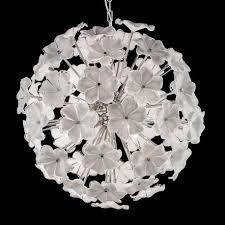Lotus Chandelier Lotus Murano Glass Chandelier Murano Glass Chandeliers