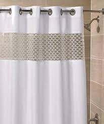 Hookless Shower Curtains Hookless Shower Curtain Pinteres