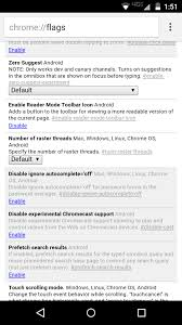 Chrome Flags Android Gigaom Experimental Reader Mode Arrives In Stable Chrome For Android