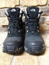 s insulated boots size 9 mens chilkat leather insulated boots cdj7 tnf black tnf