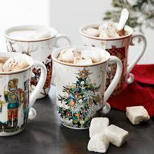 christmas mug twas the before christmas mugs tree williams sonoma