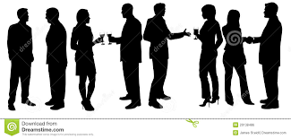 cocktail people clipart collection