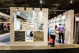 calgary home and interior design show ledgestone and tile source booth at the calgary home