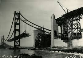 the golden gate bridge turns 80 rare images from the archives