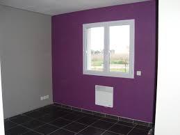 chambre aubergine et gris model de peinture pour chambre a coucher chambre adulte a petit