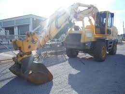 2006 badger 1085d cruz air rubber tire excavator s n 50901